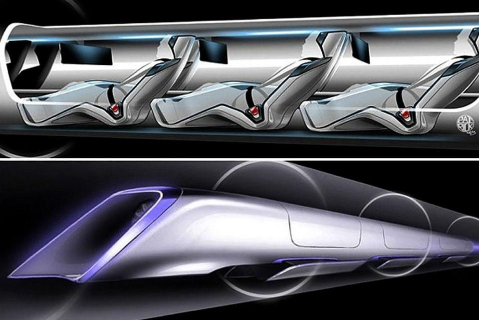 ¿Cómo se moverá el tren supersónico delfuturo?