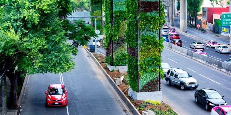 Vía Verde. Los jardines verticales deMéxico