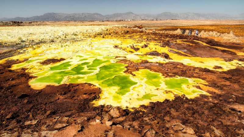 Hay vida en el infierno: encuentran bacterias en las aguas más inhóspitas delplaneta