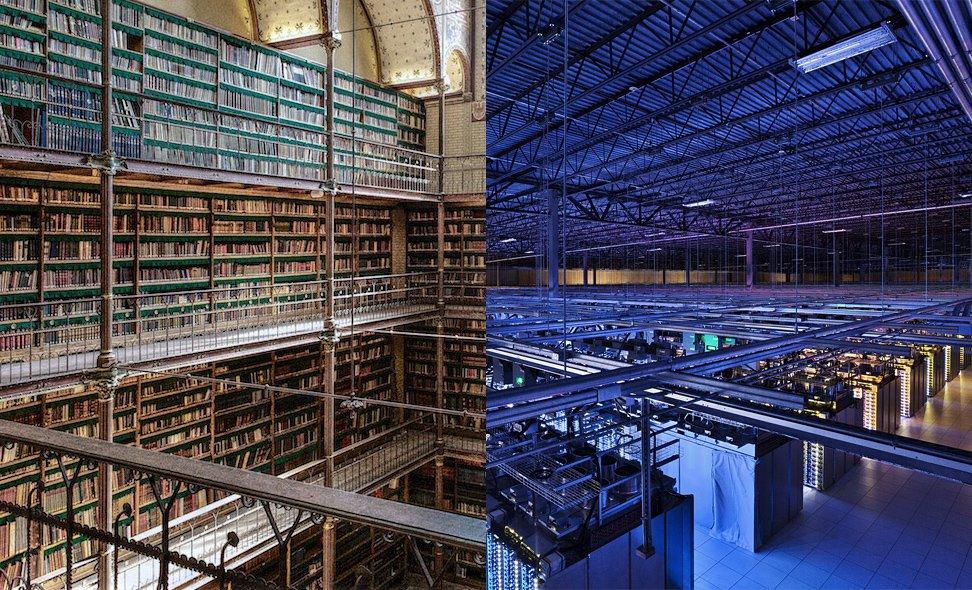 La biblioteca comoinfraestructura
